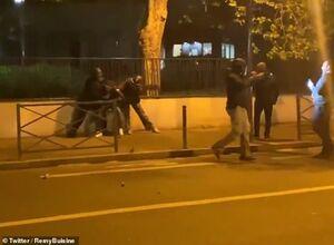 فیلم/ حمله به یک مرکز پلیس در فرانسه