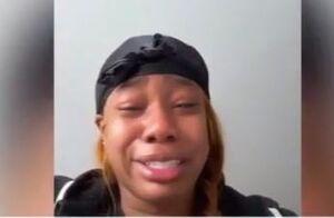 فیلم/ اشکهای دختر جوان از واقعیتهای زندگی در آمریکا