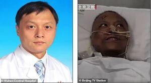 کرونا پزشکان چینی را سیاه کرد