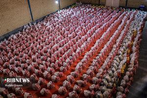 عکس/ توزیع بستههای حمایتی رمضان در آبادان