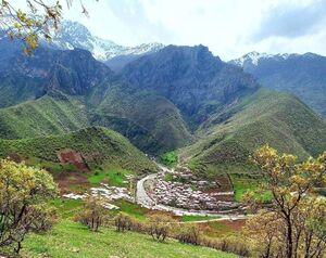 روستای تاریخی دله مرز(دره مرز)