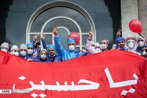 عکس/ تجلیل ارتش از مدافعان سلامت