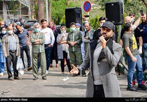 عکس/ اجرای کنسرت موسیقی در بیمارستان شهدای تجریش