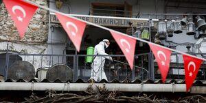 تعداد مبتلایان کرونا در ترکیه به ۹۵ هزار نفر رسید
