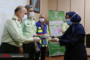 قدردانی رییس پلیس تهران از کادر درمانی