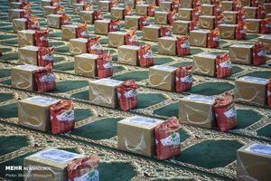 عکس/ توزیع بستههای کمک معیشتی توسط ناجا