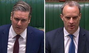 کرونا دولت جانسون را به گوشه رینگ پارلمان انگلیس برد