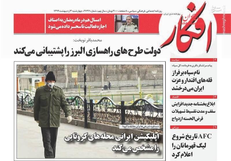 افکار: دولت طرحهای راهسازی البرز را پشتیبانی میکند