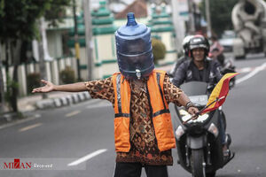 عکس/ ماسکهای عجیب و غریب در مقابل کرونا