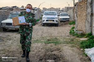"عکس/ ""کمک مومنانه"" غیور مردان نیرویزمینی ارتش"