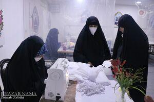 عکس/ رویشهای انقلاب در قرارگاه جهادی رویش