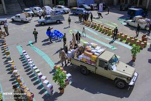 عکس/ رزمایش کمک مومنانه در شهرکرد