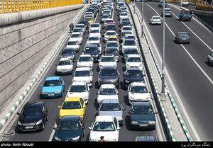 ترافیک فیروزکوه نیمه سنگین، اما روان است