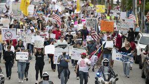 چند درصد آمریکاییها معتقد به خشونتهای دنبالهدار هستند؟