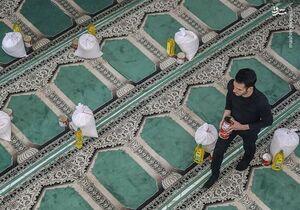 فیلم/ رزمایش کمک مؤمنانه در مصلای تهران