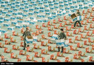 عکس/ رزمایش کمکهای مومنانه در تبریز