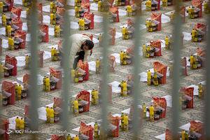 عکس/ رزمایش کمک مومنانه در همدان