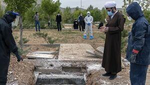 اقدام جهادی طلبهها برای دفن جانباختگان کرونا +عکس