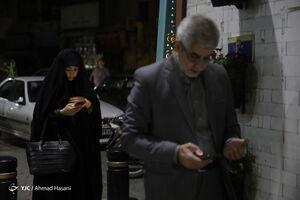 عکس/ حال و هوای اولین شب رمضان در اطراف حرم رضوی