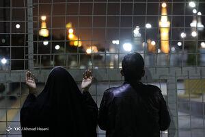 حال و هوای مجاوران امام رضا (ع) در شب قدر +صوت