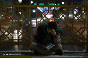 حال و هوای اولین شب رمضان در اطراف حرم رضوی