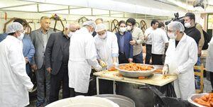 تولید ۱۶ میلیون ماسک و دستکش توسط خادمان اربعین +عکس