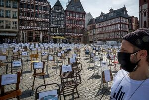 اعتراض به قوانین قرنطینه به سبک آلمانی
