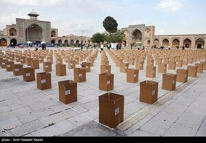 عکس/ سنگ تمام قزوینیها در رزمایش همدلی مومنانه
