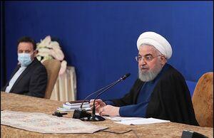 فیلم/ روحانی: پس از ۱۰۰ روز درگیری با کرونا در شرایط خوبی هستیم