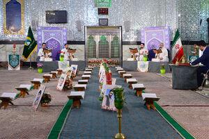 عکس/ جز خوانی قرآن کریم در حرم عبدالعظیم حسنی(ع)