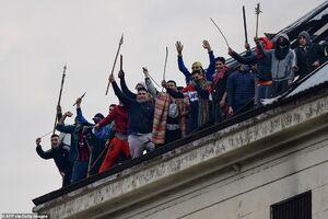 عکس/ شورش زندانیان آرژانتینی در پی شیوع کرونا