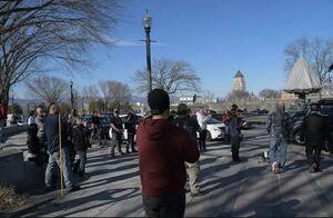 عکس/ تظاهرات در کبک کانادا در مخالفت با قرنطینه