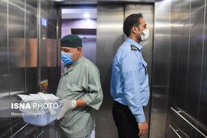 عکس/ تداوم رسیدگی به بیماران کرونایی در دامغان