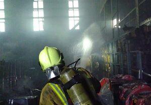 فیلم/ تصاویری از محل آتشسوزی ساختمان صداوسیما