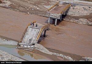 فیلم/ هم اکنون وقوع سیلاب در طالقان
