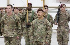 ۲۵۰۰ نیروی هوابرد آمریکا از غرب آسیا خارج میشوند
