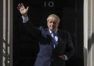 «بوریس جانسون» به دفتر نخست وزیری بازگشت