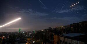 پدافند سوریه تعدادی از موشکهای شلیک شده از جانب رژیم صهیونیستی را ساقط کرد