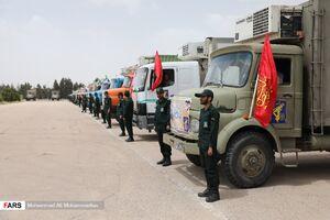 عکس/ رزمایش مؤمنانه سپاه در ماه رمضان