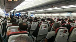 زور نظارت هواپیمایی کشوری و وزارت بهداشت، به بزرگترها نمیرسد؟! +عکس