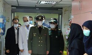 بازدید وزیر دفاع از بیمارستان چمران