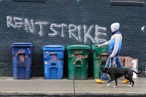 بزرگترین اعتصاب قرن مستأجران در نیویورک/ میلیونها آمریکایی پولی برای پرداخت اجاره خود ندارند