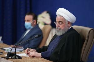 عکس/ روحانی در نشست با روانشناسان، جامعه شناسان و فعالان اجتماعی
