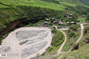 عکس/ طغیان بهاری رودخانههای غرب مازندران