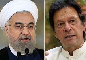روحانی و عمران خان تلفنی گفتوگو کردند