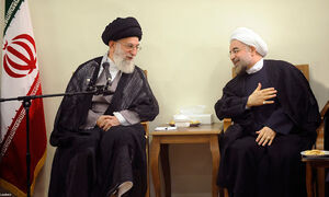 فیلم/ قدردانی روحانی از رهبر انقلاب