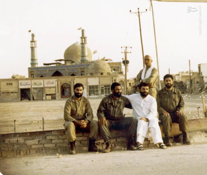 شهید سید احمد نبوی در خرمشهر