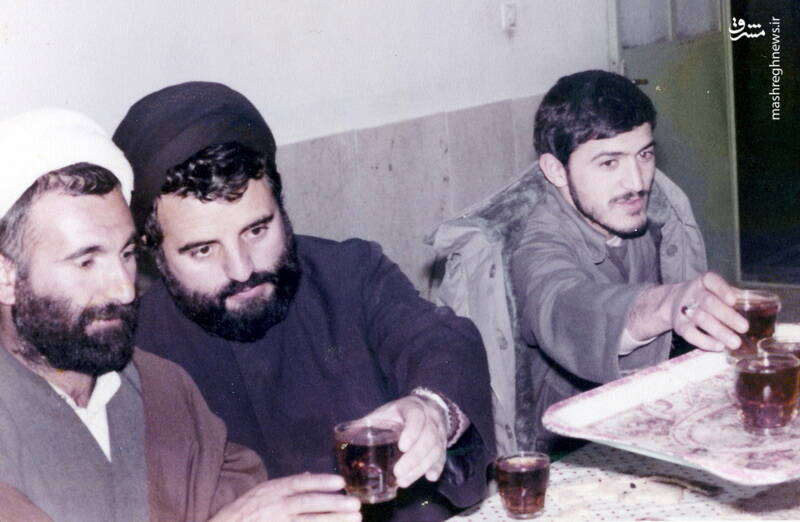شهید سید احمد نبوی و شهید مهدی زین الدین
