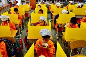 پارتیشنهای پلاستیکی در مدارس