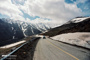 جاده بهشتی زنجان به گیلان +عکس
